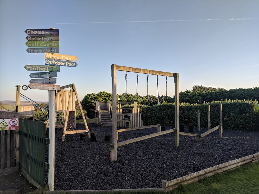 The Sands Resort Cornwall Review | A Family Hotel with Kids Club near Newquay  - adventure playground