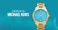 Castiga un ceas Michael Kors Slim Runway MK3265