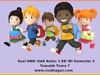 Soal UKK Kelas 3 Tema 7 Kurikulum 2013