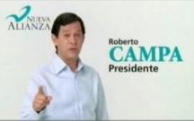 Roberto Campa - Candidato Presidencial por Nueva Alianza en 2006