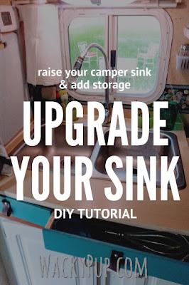 Amazing Mod Fixes a Low Sink - End Backaches - Genius!