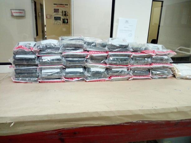 """Supuestamente """"No era droga"""" el contenido de 116 paquetes ocupados en Hato Mayor, según la DNCD"""