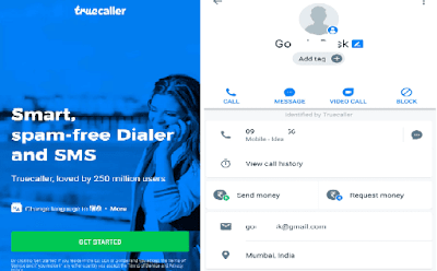 Trace Any Mobile Number Location In India By TrueCaller - GoTechForum
