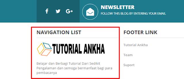 Cara Menambahkan Logo atau Gambar di blog
