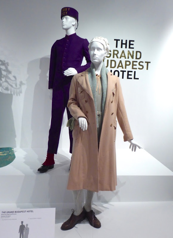 Grand Budapest Hotel film costumes