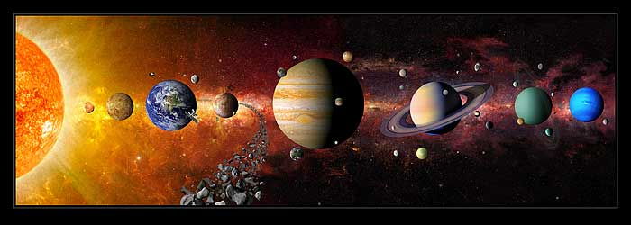 Signs of Allah in Solar System Islam Prophet Muhammad