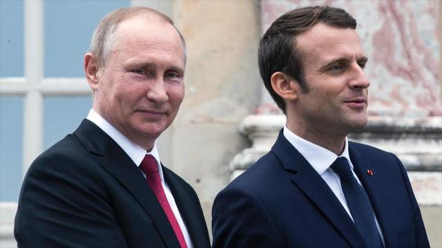 Rusia y Francia acuerdan aumentar cooperación ante Daesh