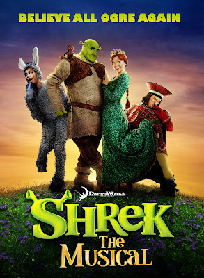 Poster Of Hollywood Film Shrek the Musical (2013) In 300MB Compressed Size PC Movie Free Download At worldfree4u.com