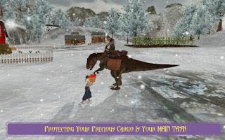 Extreme Dino Rex Snow Cargo Apk v1.1 (Mod Money)