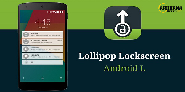 Lollipop Lockscreen Android L Premium v1.42 Apk