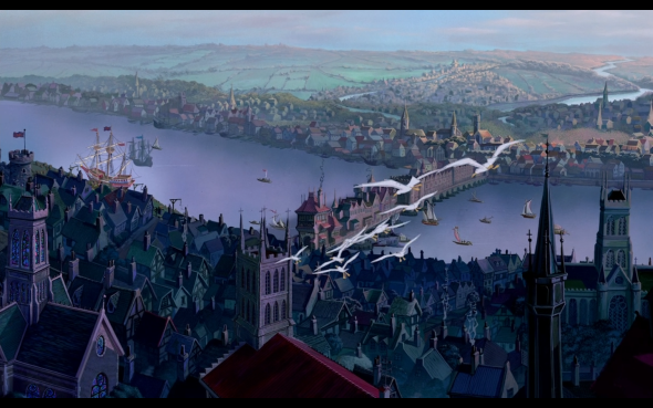 London England Pocahontas II: Journey to a New World 1998 animatedfilmreviews.filminspector.com