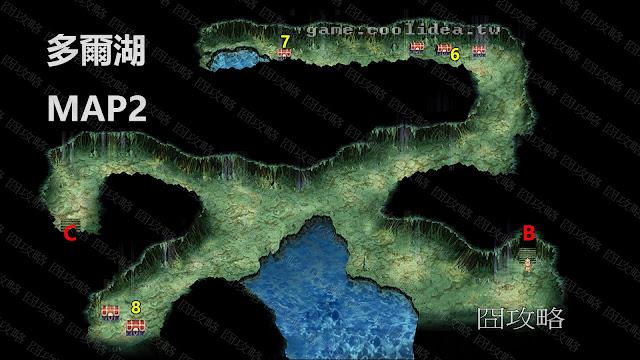多爾湖地圖2