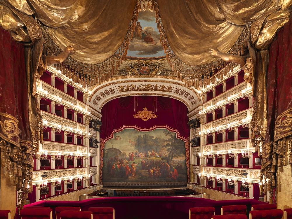 Resultado de imagen de palco real san carlo nápoles