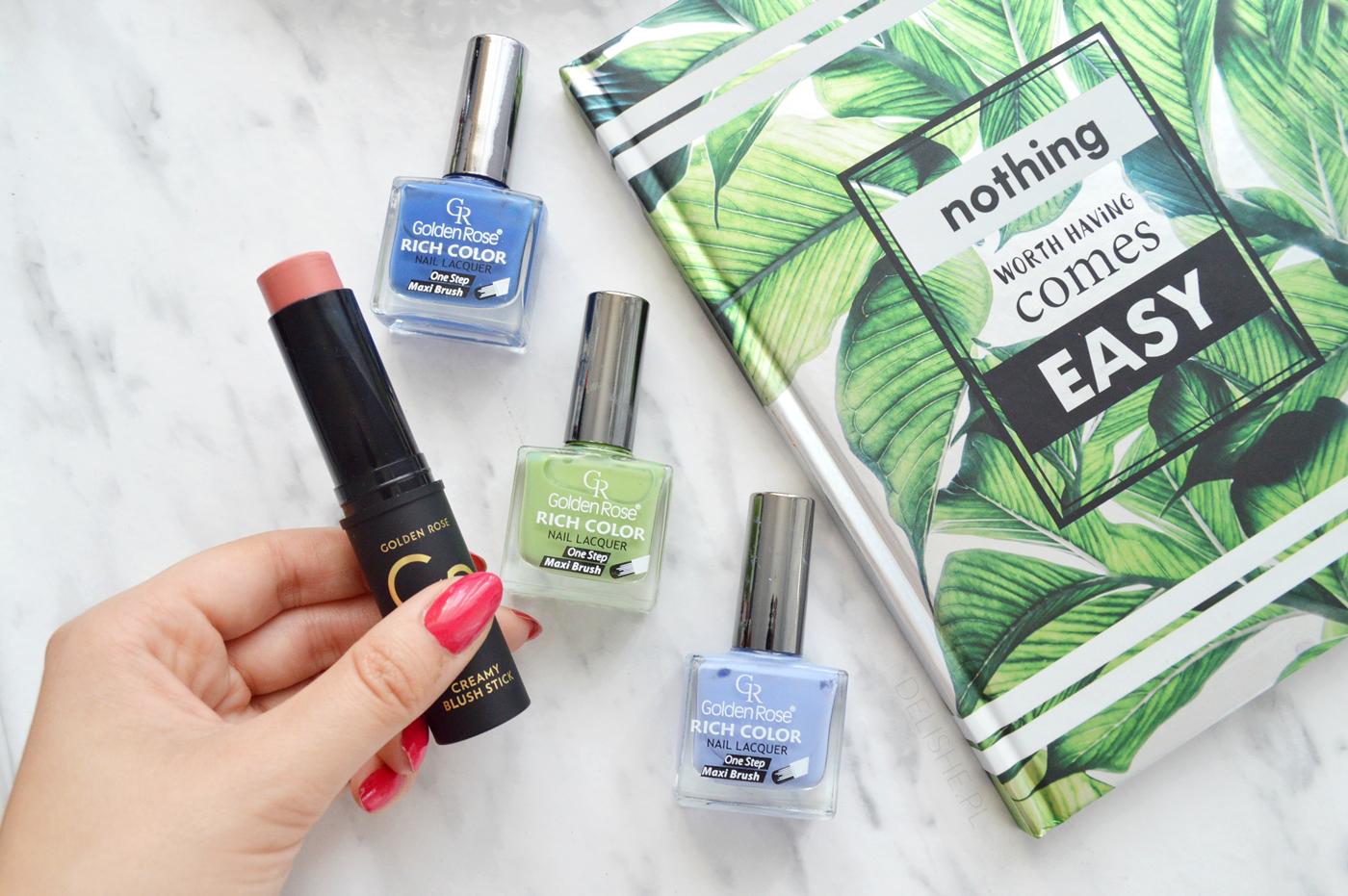 kosmetyki golden rose blog