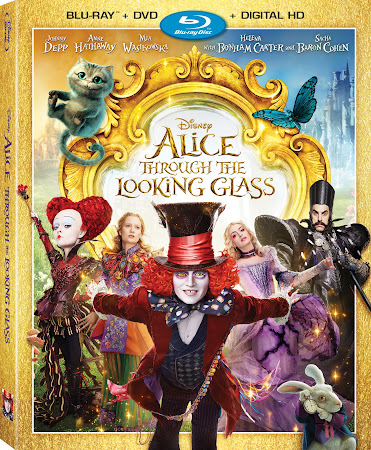 Poster Of Alice Through the Looking Glass In Dual Audio Hindi English 300MB Compressed Small Size Pc Movie Free Download Only At worldfree4u.com
