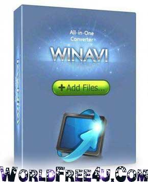 Cover Of WinAVI All In One Converter 1.7 Full Version Free Download At worldfree4u.com