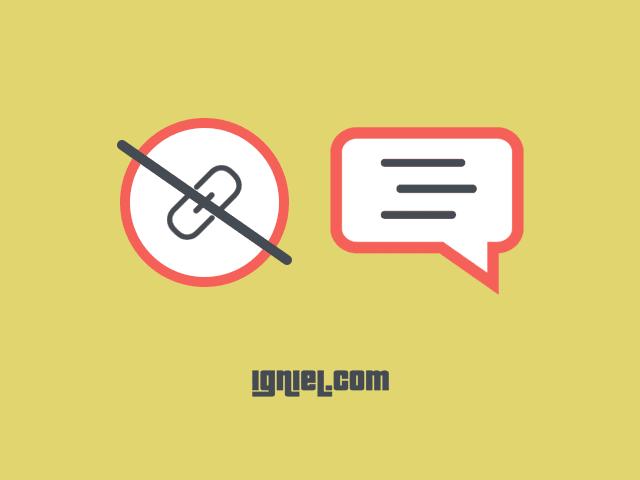 Script Untuk Otomatis Menghapus Link Aktif di Komentar Blogger