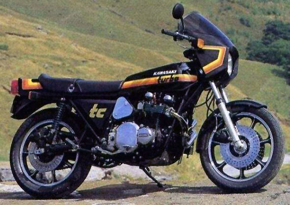 OddBike: Kawasaki Z1R-TC - The Psycho Turbo Z
