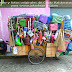Yakarta y sus peculiares vendedores ambulantes