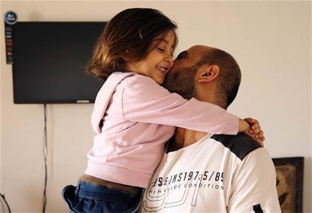 al-attar with his lovely daugther