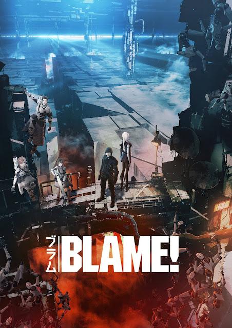 Okładka anime Blame!