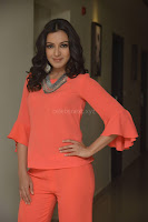 Catherine Tresa in Orange Kurti top and Plazzo at Launches B New MobileStore at Kurnool 10.08.2017 012.JPG