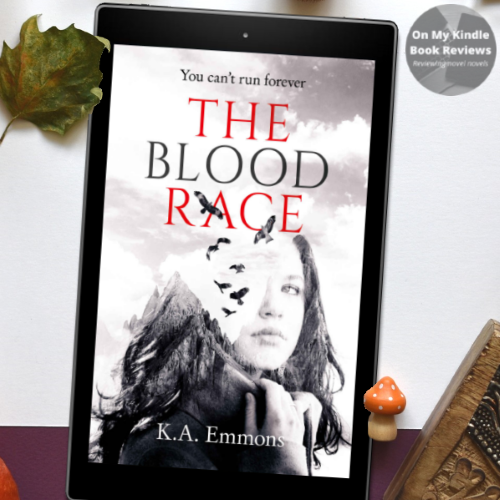 THE BLOOD RACE BY K.A. Emmons, book review by On My Kindle Book Reviews