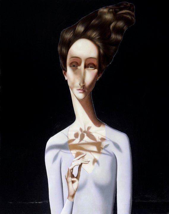 Slava Fokk 1976 | Russian Postmodern Symbolist painter