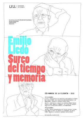 """""""Emilio Lledó. Surco del tiempo y memoria"""""""