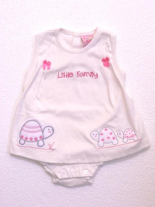baju bayi baru lahir perempuan
