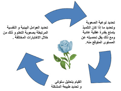 خطوات و إجراءات تشخيص التعلمات و التعثر الدراسي و الدعم التربوي