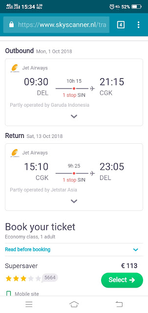 Delhi to Bangkok in 100 doller return flight