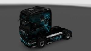 Scania RJL Tron Skin