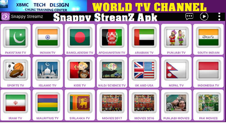 Download Snappy StreamZ (Pro) IPTV Apk For Android Streaming World Live Tv ,Sports,Movie on Android      Quick Snappy StreamZ (Pro)IPTV Android Apk Watch World Premium Cable Live Channel on Android