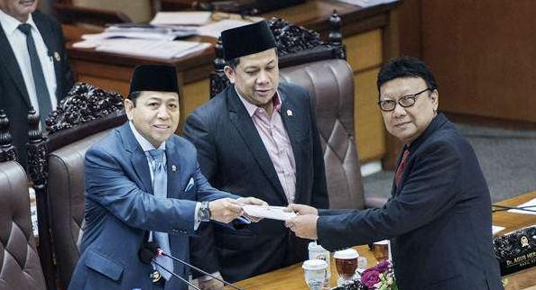 DPR bersama pemerintah telah mengesahkan RUU Pemilu