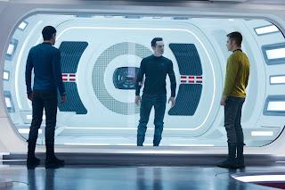 Star Trek Into Darkness Khan Kirk Spock