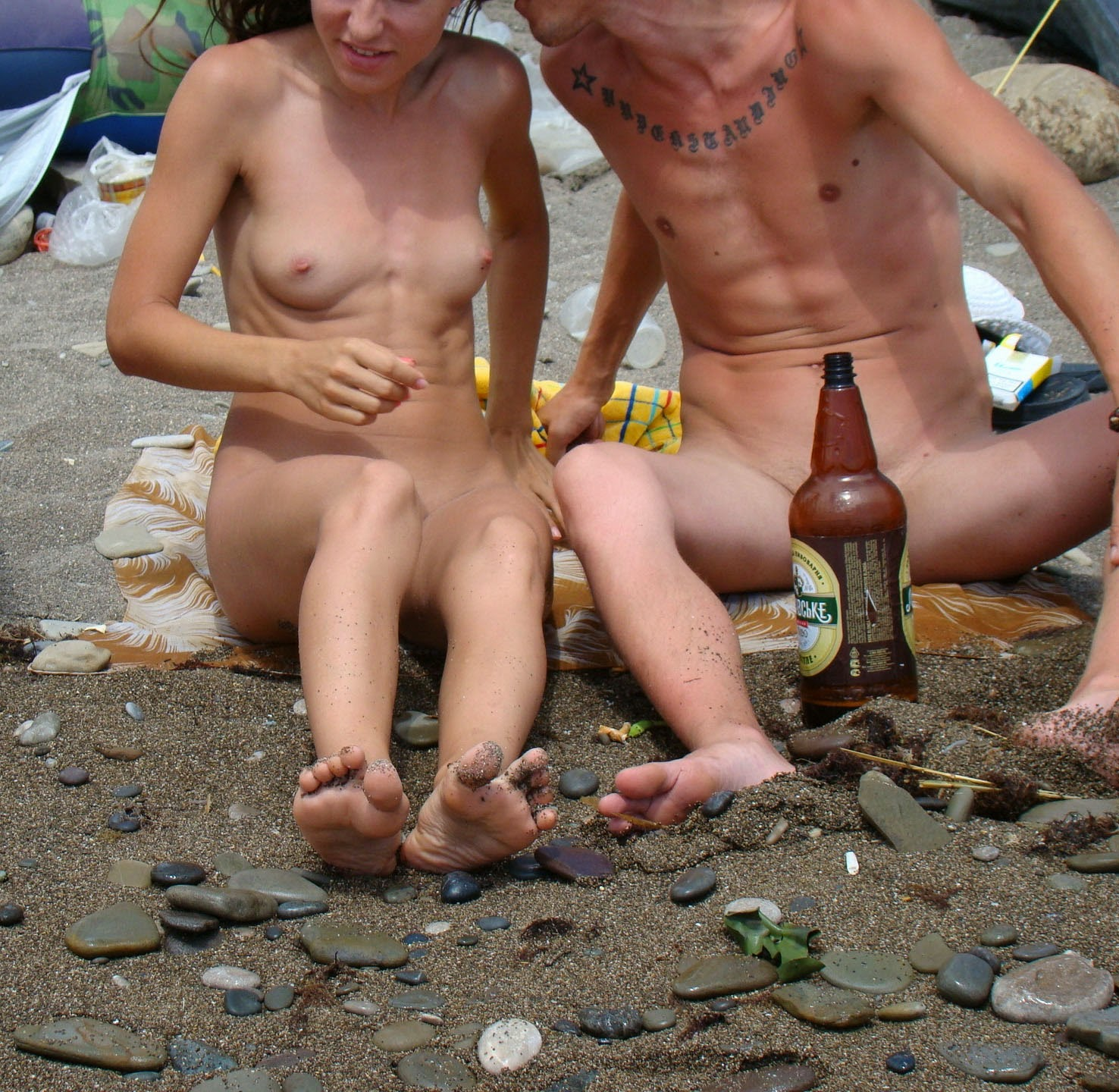Nudism - Photo - Hq  Russian Nude Beach - Young Girls-8978