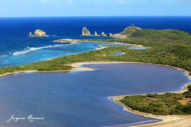 Photo aerienne de Guadeloupe - La Pointe des Chateaux
