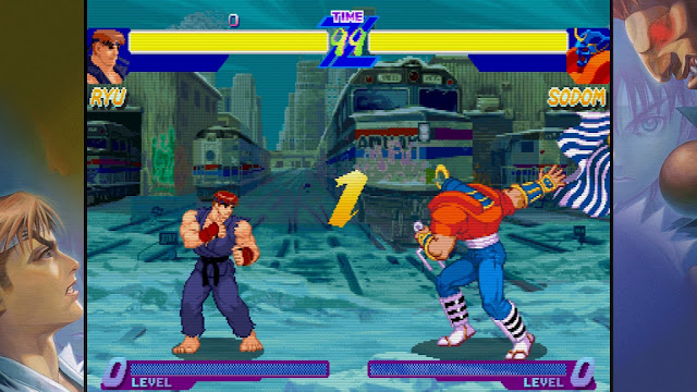 Street Fighter 30th Anniversary Collection - Street Fighter Alpha Warriors' Dreams - Ryu VS Sodom