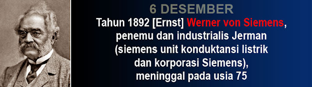 Hari kematian Werner von Siemens