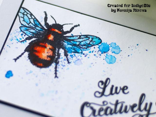 Stamp Focus - Bumblebee