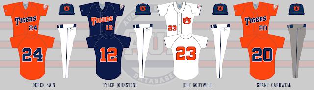 auburn baseball 2006 uniforms