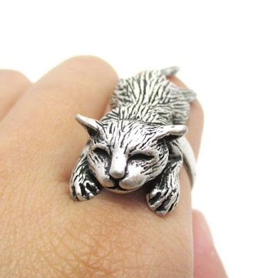 Cat Themed Ring