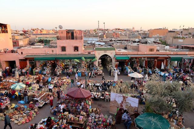 cafe des epices Marrakech a golpe de objetivo