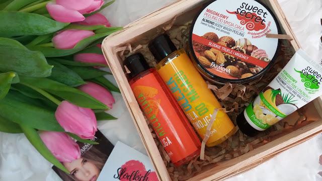 Walentynkowy box z kosmetykami od Farmona