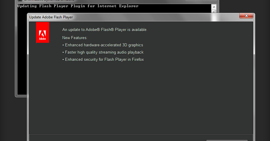 Manually Run Autoupdate for Adobe Flash Player on Windows