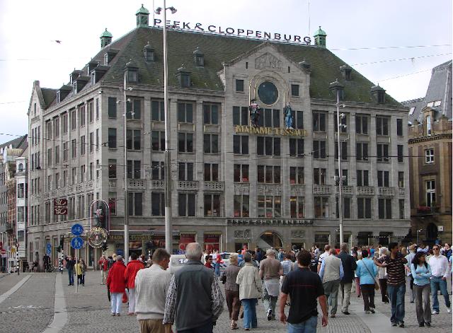 Ingressos do Museu de Cera Madame Tussauds em Amsterdã