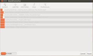 SoundConvert Audio converter Ubuntu