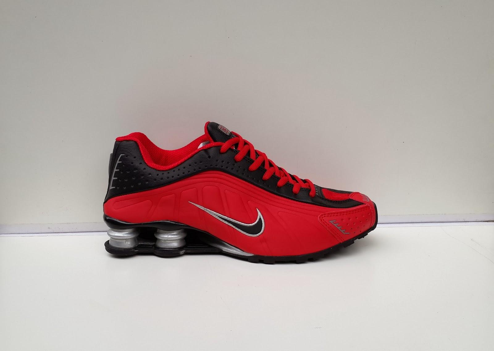 Nike Shox r4 Murah, sepatu nike merah