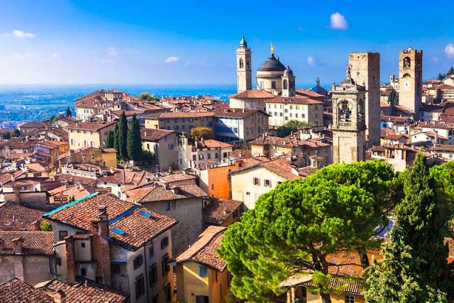 Visita a la ciutat de Bergamo